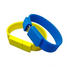 Hot Selling Fashion Wrist Band Memory Disk Silicone USB Bracelet