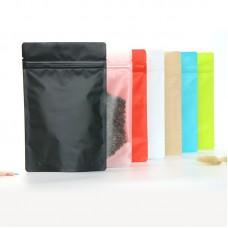 Bulk Food Storage Mylar Self Sealing Ziplock Heat Seal Matte Aluminum Foil Bags