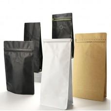 Safety Food Saver Packaging Stand Up Matte Lamination Aluminum Foil Plastic Bag With Valve