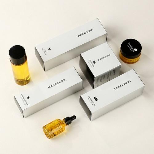 Custom Cosmetic Retail Gift Serum Essential Oil Bottle Packaging Paper Box
