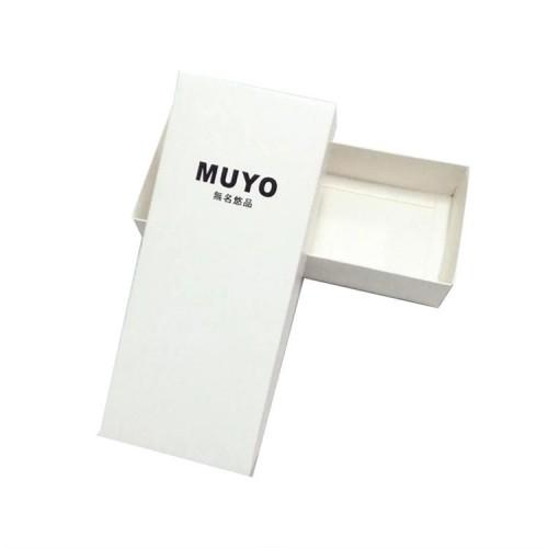 Custom White Kraft Gift Storage Paper Box With Lid Wholesale