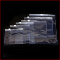 Zipper Waterproof Travel Clear Transparent PVC Cosmetic Packaging Bag Pouch
