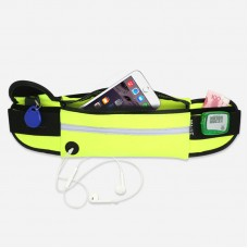 Sport Waist Bag With Safe Reflective Stripe