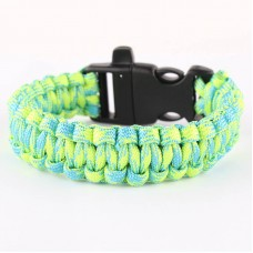 Wholesale 550 Survival Kit Paracord Bracelet With Whistle