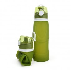 Large Collapsible Silicone Water Bottle For Outdoor Sports