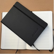 Hot Selling PU Leather Classic Elastic Band Notebook