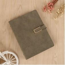 New Nubuck Leather Fabric Notebook