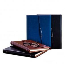 Noble Luxury Three Fold Spring Leaf Notebook