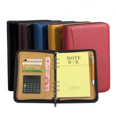 High Quality Leather Business Notebook With Calculator
