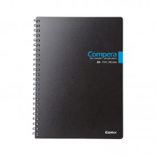 Plastic PP Cover Spiral Notebook