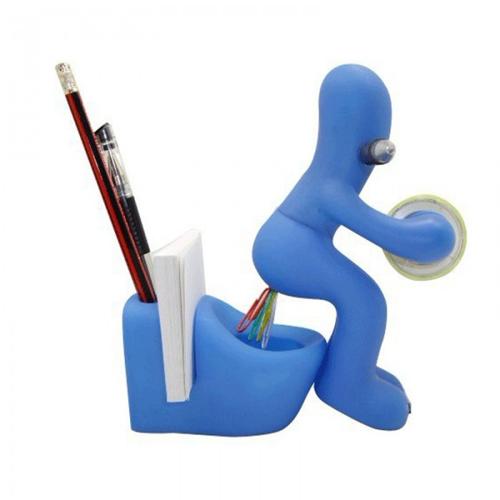 cute butt station desk accessory pen memo holder clip storage tape dispenser