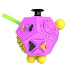 12 Sides Fidget Dice Premium Quality Fidget Cube Toy