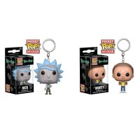 Funko POP Keychain Rick And Morty Action Figure Toys