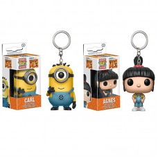 Funko Pocket POP Keychain - Despicable Me 3 Agnes and Carl Bundle Action Figure