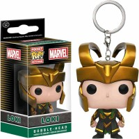 Funko POP Keychain Marvel Loki Action Figure