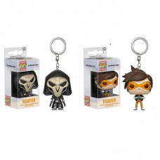 Funko Pocket POP Keychain Overwatch Reaper And Tracer Stylized Vinyl Figure