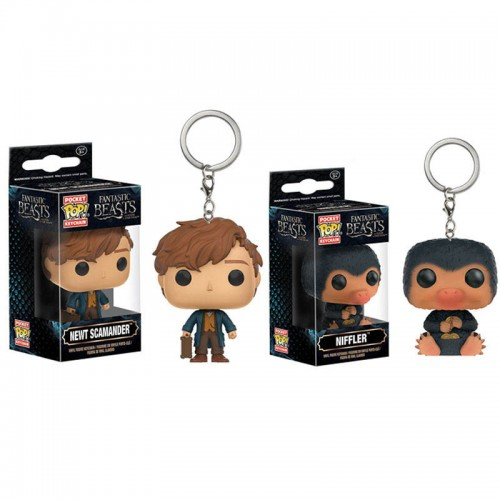 Funko Pocket POP Keychain Fantastic Beasts and Where to Find Them Newt and a Niffler