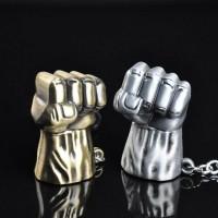 Zinc Alloy Marvel Comics Avengers Hulk Fist Key Chain Gift Pendant
