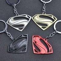 "DC Comics Movie Clark Kent Originals Superman Symbol Colored Pewter ""S"" Logo Pendant Keychain"