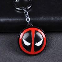 Marvel Comics Movie Deadpool Big Face Spinning Keychain