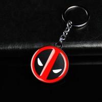 Marvel Comics Movie Deadpool Logo Mask Keychain