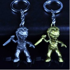 Chucky Voodoo String Doll Keychains