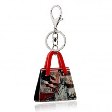 London And New York Tourism Souvenir Acrylic Keychain