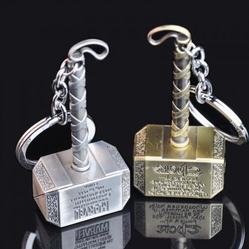 Hot Selling Superheroes Marvel Comics Thor's Hammer Keychain