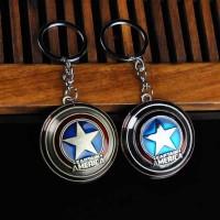 Cheap Marvel Comics Captain America Civil War Shield Metal Keychain