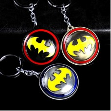 DC Comics Justice League Alloy Spinning Shield Batman Keychain