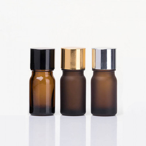 Premium 5 ml Glass Bottles Wholesale For Essential Oils With Insert