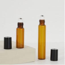 Brown Glass Essential Oil Roller Bottles Wholesale 3ml 5ml 10ml