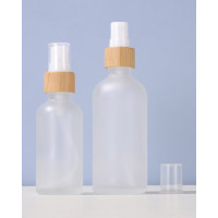 Frosted Clear Glass Spray Bottles Custom Logo Printing 5ml, 10ml, 15ml, 20ml, 30ml, 50ml, 100ml