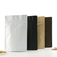 Matte Lamination Aluminum Foil Stand Up Coffee Pouches With Valve