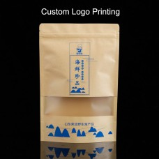 Custom Printed Stand Up Pouches Packaging Wholesale -- Hot Stamping Gold, One Color, Full Color Printing