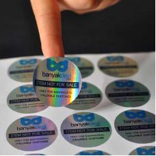 Custom Hologram Stickers
