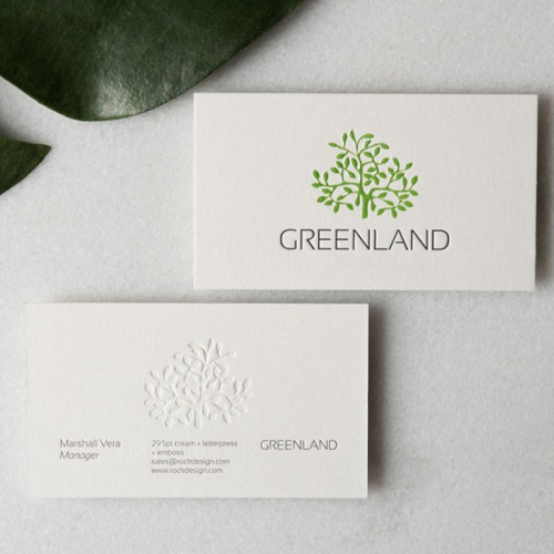 Custom Design Logo Printing Paper Business Card