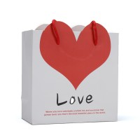 Lovely Heart Fancy Paper Gift Bags