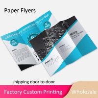 Custom Design Logo Printing Paper Flyers