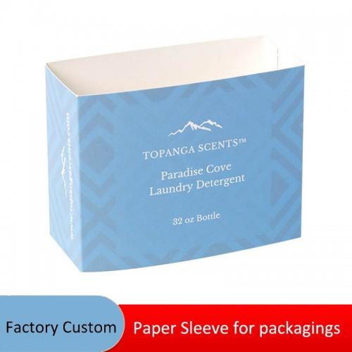 Custom Design Logo Printing Paper Sleeves For Boxes