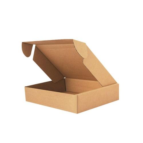 Custom Mailer Boxes Strong Kraft Cardboard For Postal Packaging Shipment