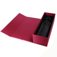 High Quality Custom Black Book Shape Gift Packaging Cardboard Box With Foam
