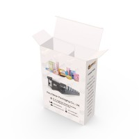 High Quality Premium White Cardboard Paper Custom Packaging Boxes