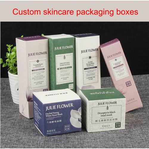 Custom Skincare Packaging Box